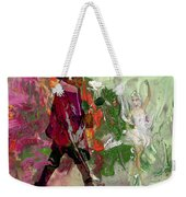 A White Rose For A Ballerina Weekender Tote Bag