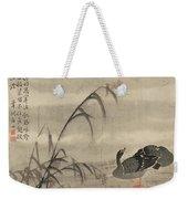 A Wild Goose Weekender Tote Bag