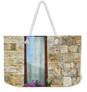 A Window In Florence Weekender Tote Bag