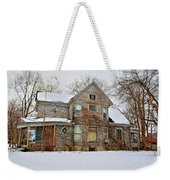 A Winter Haunting Weekender Tote Bag