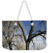 A Winter Kiss Weekender Tote Bag