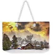 A Winter Sky Weekender Tote Bag by Steve Harrington