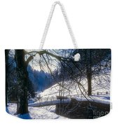 A Winter Walk In The Black Forest Weekender Tote Bag