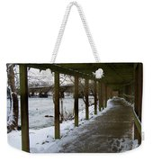 A Winter Walk Weekender Tote Bag