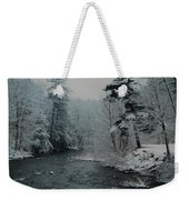 A Winter Waterland Weekender Tote Bag
