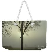 A Winter's Day In The Fog Weekender Tote Bag