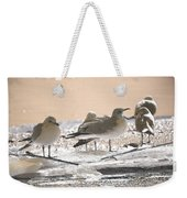 A Winter's Day Passing Bye Weekender Tote Bag