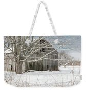 A Winters Day Square Weekender Tote Bag
