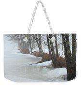A Winter's Scene Weekender Tote Bag