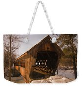 A Winters Walk Weekender Tote Bag