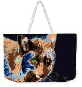 A Wolf Staring Weekender Tote Bag