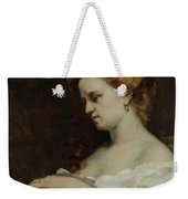 A Woman With Jewellery Weekender Tote Bag