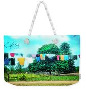 A Woman's Work Is Never Done Weekender Tote Bag