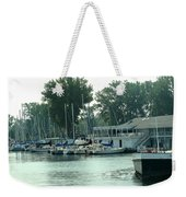 A Yacht Club Weekender Tote Bag