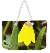 A Yellow Bell's Tear Weekender Tote Bag