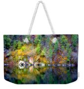 A Yellow Lake Calm Weekender Tote Bag