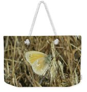 A Yellow Moth  Weekender Tote Bag