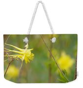 A Yellow Paradise Weekender Tote Bag