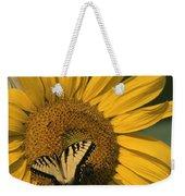 A Yellow Swallowtail Weekender Tote Bag