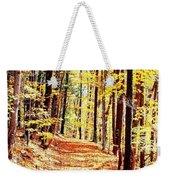 A Yellow Wood Weekender Tote Bag