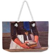 A Young Girl Weekender Tote Bag