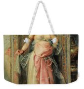 A Young Oriental Girl With A Perfume Burner Weekender Tote Bag