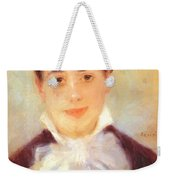 A Young Woman 1875 Weekender Tote Bag