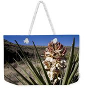 A Yucca Plant Blossoms In The Desert Weekender Tote Bag
