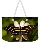 A Zebra-winged Butterfly At The Lincoln Weekender Tote Bag