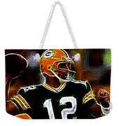Aaron Rodgers - Green Bay Packers Weekender Tote Bag
