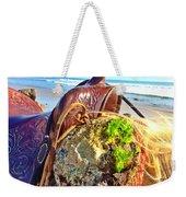 Abalone On Saddle Weekender Tote Bag