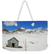 Abandon Building Alaskan Mountains Weekender Tote Bag