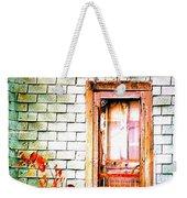 Abandonded Farm Door Weekender Tote Bag