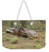 Abandoned Antique Car Weekender Tote Bag