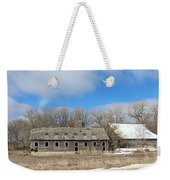 Abandoned Barn And Shed Weekender Tote Bag