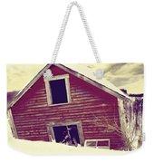 Abandoned Barn Weekender Tote Bag
