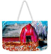 Abandoned Barn Weekender Tote Bag