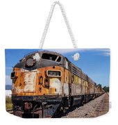 Abandoned Bessemer And Lake Erie Trains Schellville California Weekender Tote Bag