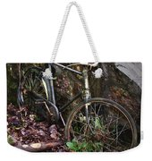 Abandoned Bicycle Weekender Tote Bag