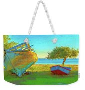 Abandoned Boats On Choctawhatchee Bay Weekender Tote Bag
