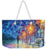 Abandoned By Winter Weekender Tote Bag