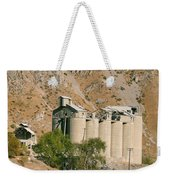 Abandoned Cement Silos Weekender Tote Bag