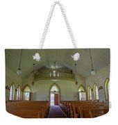 Abandoned Church In Prison Yard Weekender Tote Bag