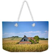 Abandoned Corn Field House Weekender Tote Bag