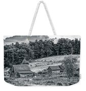 Abandoned Farm Buildings Weekender Tote Bag