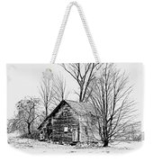 Abandoned Farmhouse In The Michigan Countryside Weekender Tote Bag