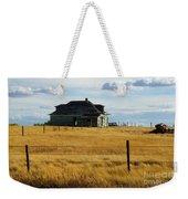 Abandoned Homestead Saskatchewan Weekender Tote Bag
