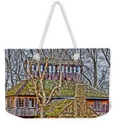 Abandoned House-don Robinson State Park-enhanced Weekender Tote Bag