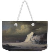 Abandoned In The Arctic Ice Fields Weekender Tote Bag