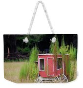 Abandoned In The Field Weekender Tote Bag
